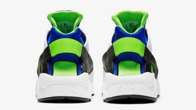 Nike Air Huarache Scream Green Back