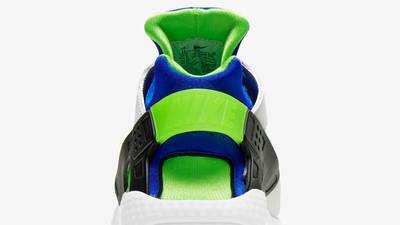 Nike Air Huarache Scream Green Closeup