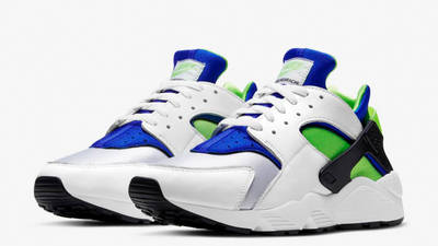 Nike Air Huarache Scream Green Front