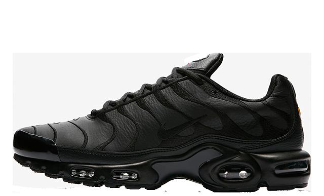 venta barata del reino unido zapatillas seleccione para el más nuevo Nike TN Air Max Plus Triple Black - Where To Buy - AJ2029-001 ...