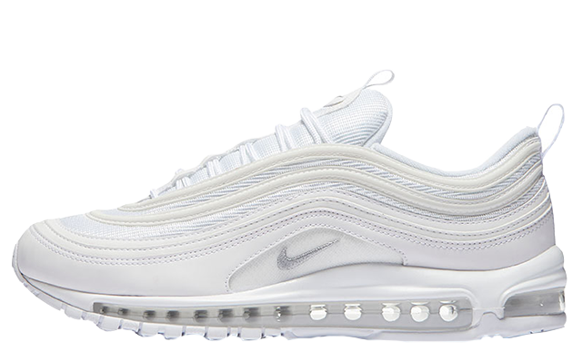 nike air max 97 all white