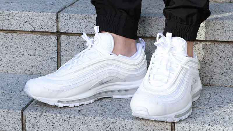 Nike Air Max 97 Triple White Where To Buy 921826 101 The