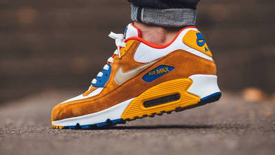 Nike Air Max 90 Premium Curry | Where To Buy | 700155-107 | The ...
