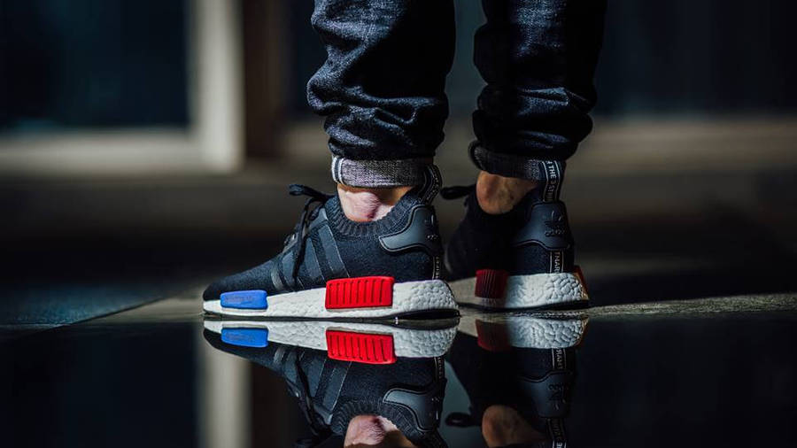 adidas NMD R1 OG Primeknit Black Red | Where To Buy | S79168 | The ...
