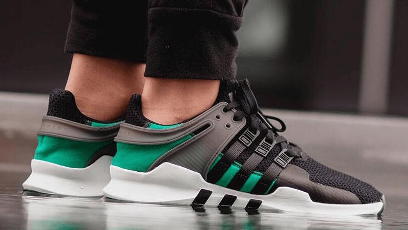 adidas EQT Support ADV Black Sub Green