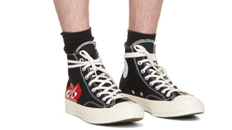 Comme des Garcons Play x Converse Chuck Taylor All Star 70 Hi Black