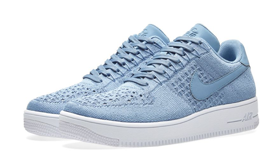 Escalera Embajador Comportamiento  Nike Air Force 1 Ultra Flyknit Low Blue | Where To Buy | 817419-402 | The  Sole Supplier