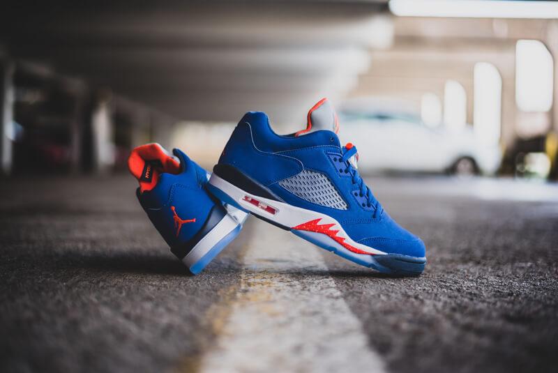 Nike Air Jordan 5 Retro Low Knicks