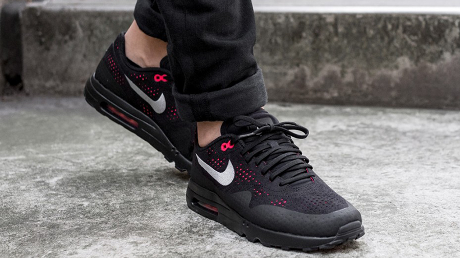 Nike Air Max 1 Ultra 2.0 Moire Black Red | Where To Buy | 918189 ...