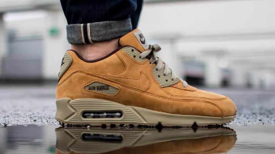 Nike Air Max 90 LTR PRM Flax | Where To Buy | 683282-700 | The ...