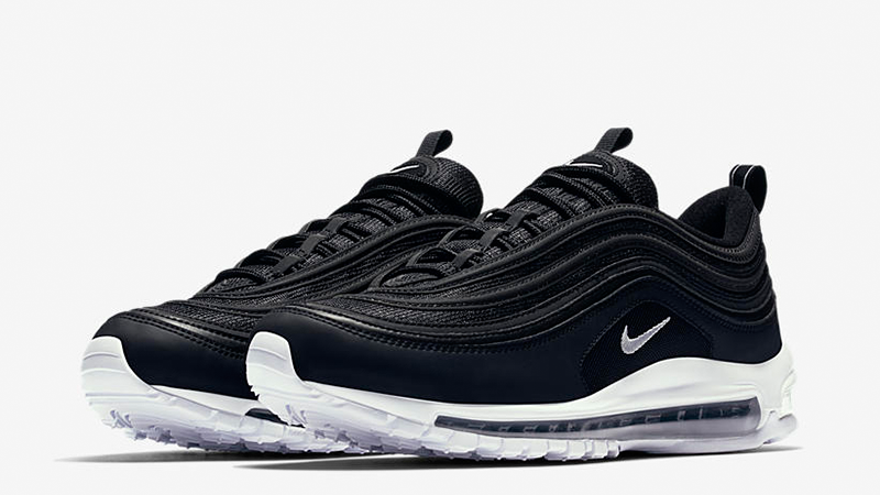 air max 97 black and white mens