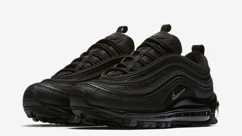 Nike Air Max 97 Triple Black Womens