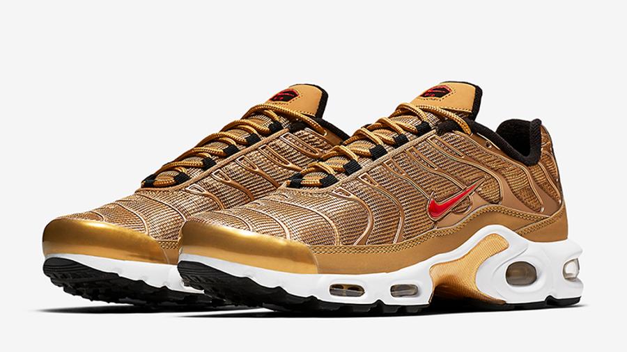 Nike Tn Air Max Plus Metallic Gold | Where To Buy | 887092-700 ...