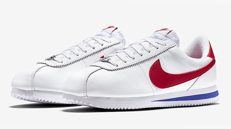 promoción diseño encantador venta más caliente Nike Classic Cortez SE White Red Blue - Where To Buy - 902801-100 ...