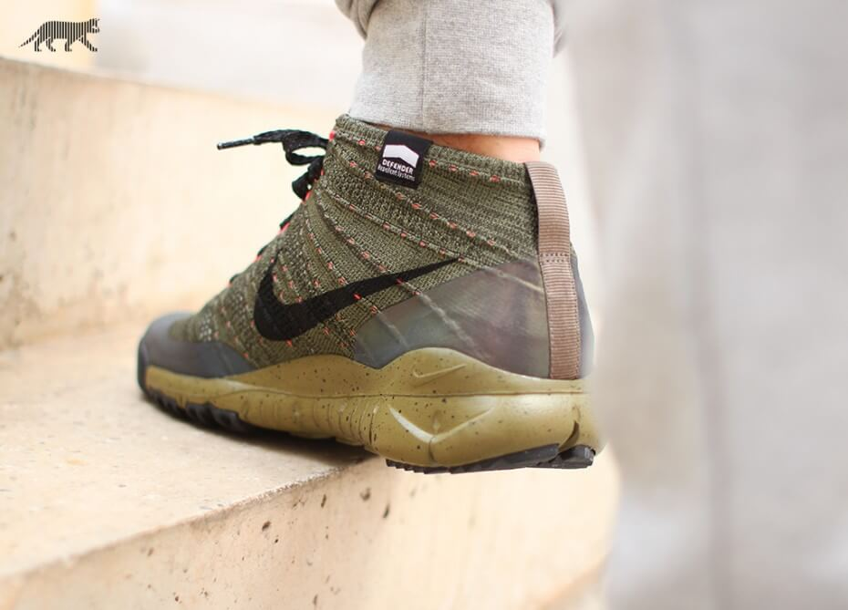 Nike Flyknit Trainer Chukka FSB Sequoia - Where To Buy ...