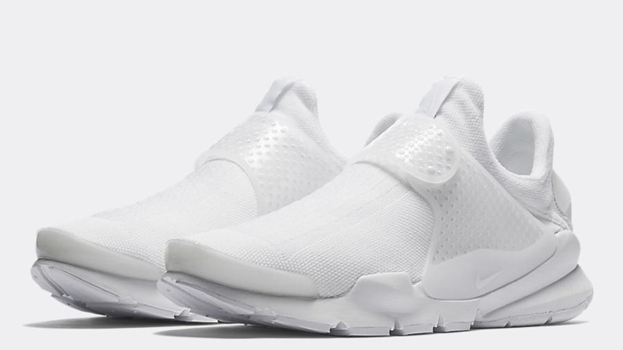 Nike Sock Dart Triple White   Where To