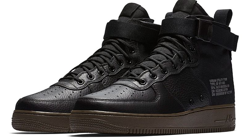 Nike Special Field Air Force 1 Mid Black