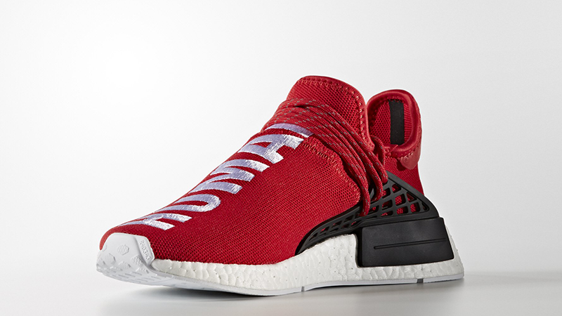 Pharrell X Adidas Hu Nmd Red Where To Buy Bb0616 The Sole