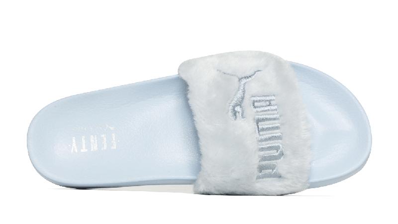 Rihanna x PUMA Fenty Fur Slide Blue