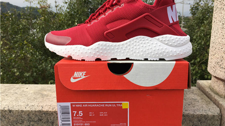 Nike Air Huarache Ultra Red White | Where To Buy | 819151-600 ...