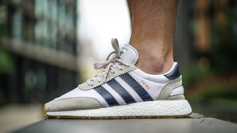 Buscar a tientas Virgen Subproducto  adidas Iniki Runner Boost White Blue Gum - Where To Buy - BY9722 | The Sole  Supplier