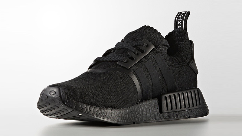 adidas NMD R1 Primeknit Japan Triple Black