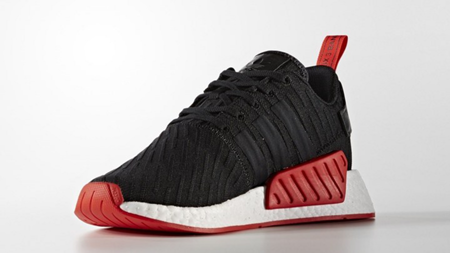 adidas NMD R2 Black Red | Where To Buy
