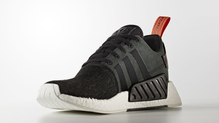 adidas NMD R2 Boost Black | Where To