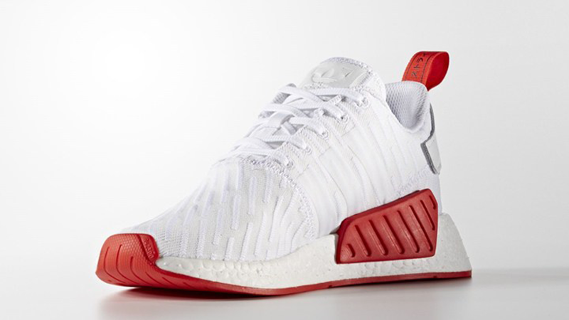 adidas nmd r2 red white off 59% - www