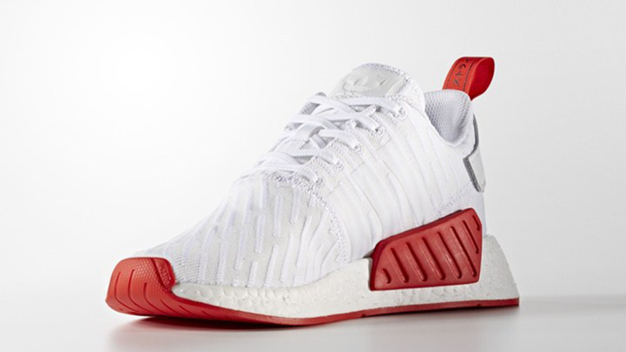 Alcanzar Peligro vestido  adidas NMD R2 White Red | Where To Buy | BA7253 | The Sole Supplier