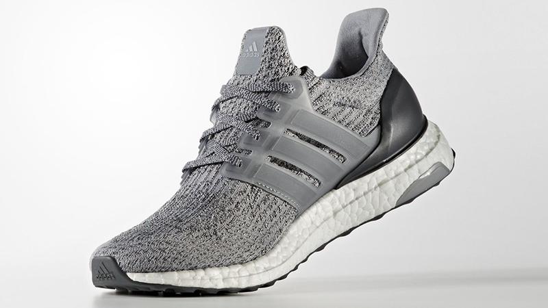 adidas Ultra Boost 3.0 Grey Black
