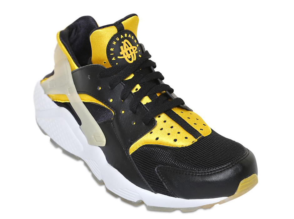 black and gold huaraches