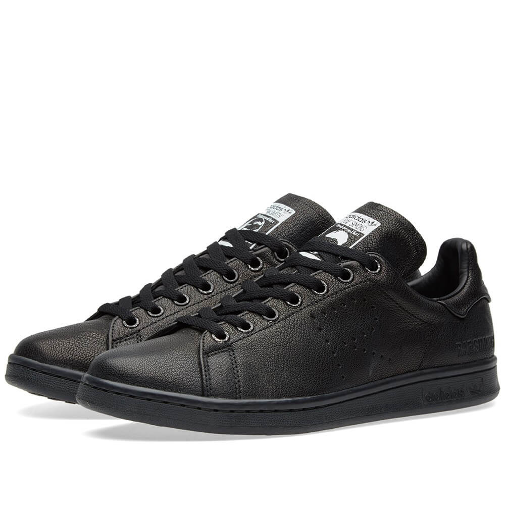 for whole family great look shop best sellers adidas X Raf Simons Stan Smith Aged Black - Where To Buy - S74620 ...