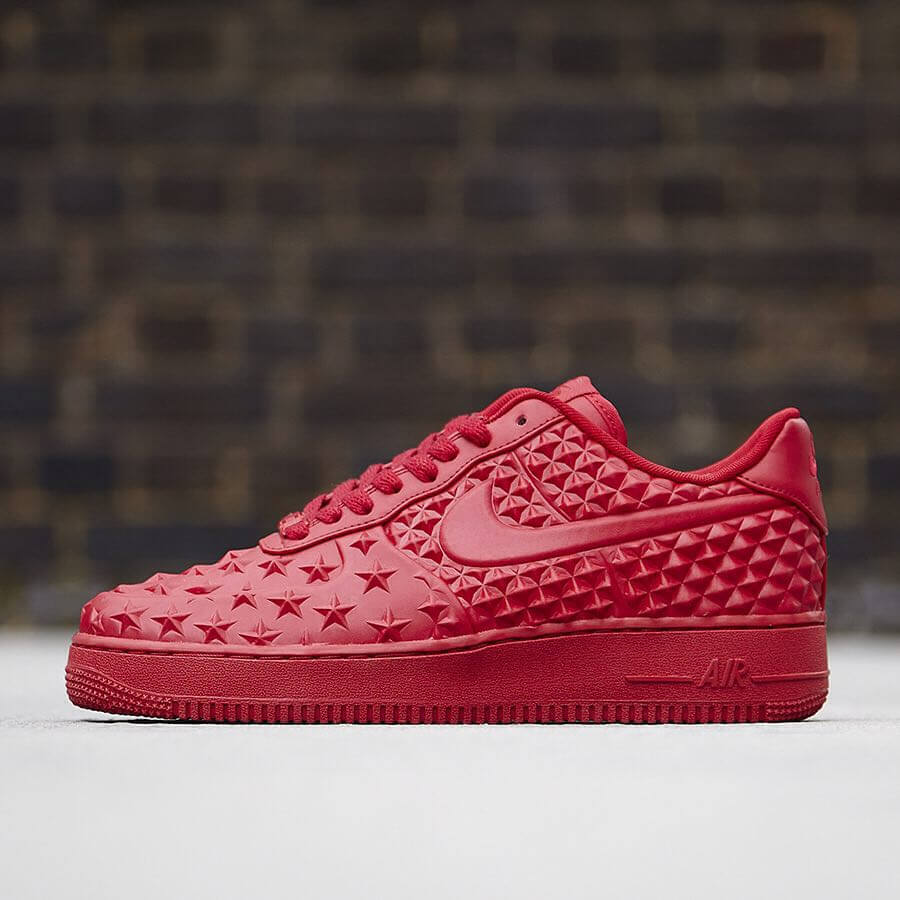 Nike Air Force 1 Low Independence Day (2017) in 2020   Red