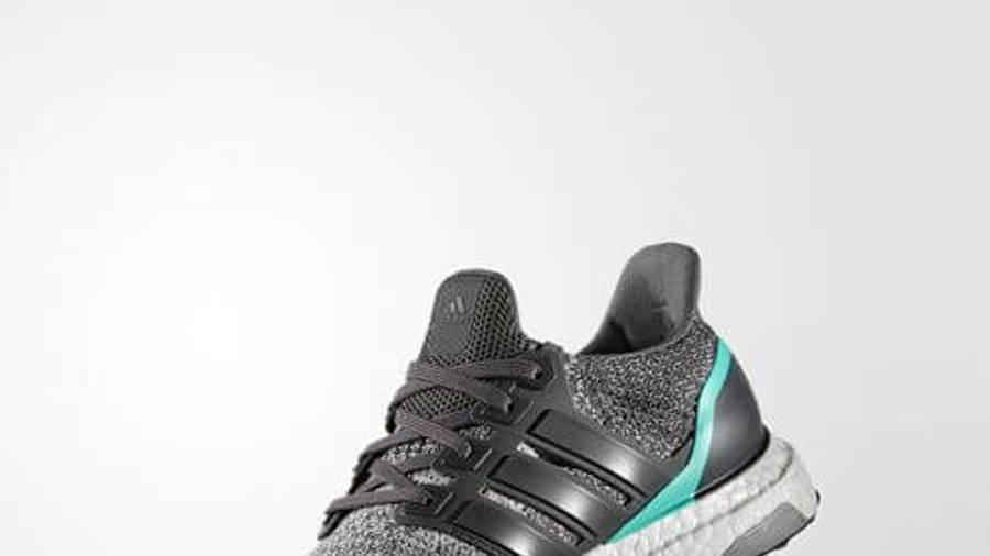 adidas Ultra Boost Grey Shock Mint