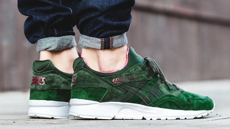 Mismo Definitivo Acera  ASICS Gel Lyte V Christmas Pack Green | Where To Buy | H6R2L-8082 | The  Sole Supplier