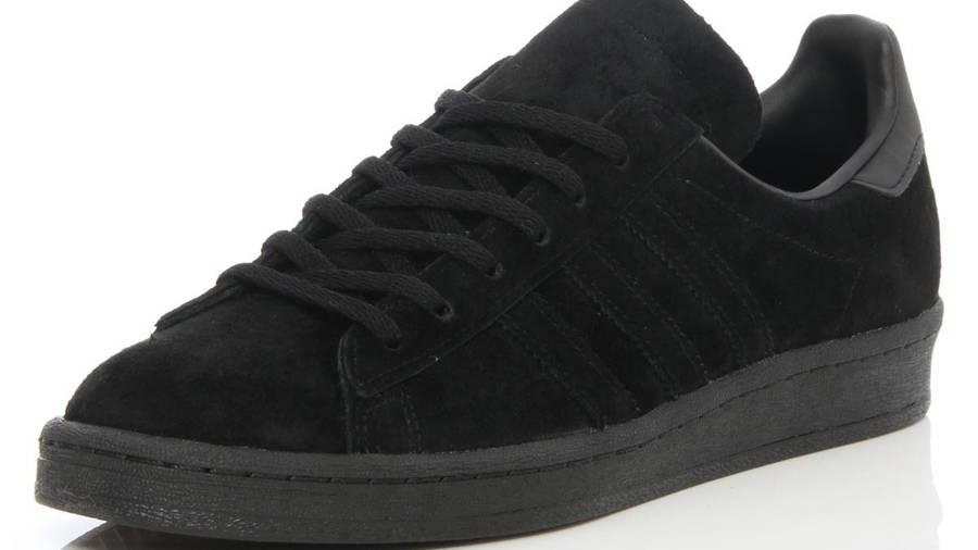 adidas Campus 80s Triple Black Suede