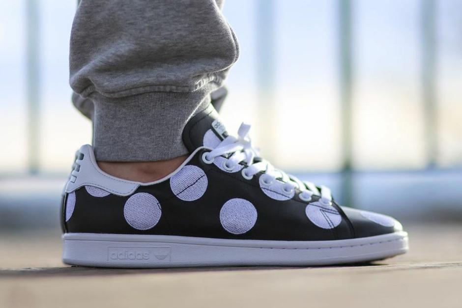 adidas Consortium x Pharrell Stan Smith Big Polka Dot Black
