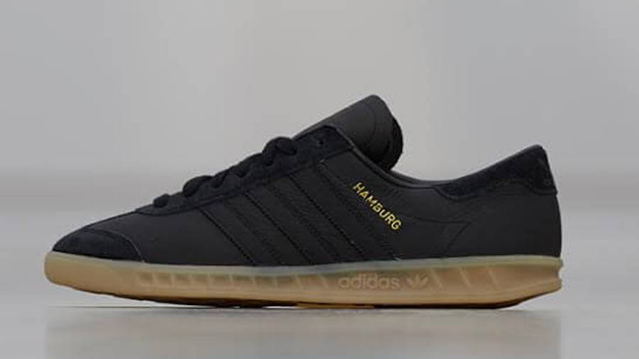 adidas Hamburg Black Gum | Where To Buy | TBC | The Sole Supplier
