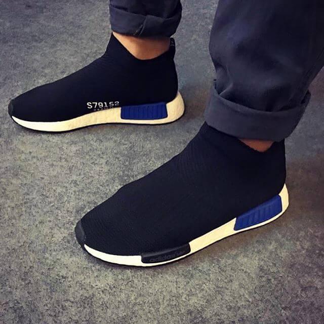 Estación de policía ligeramente Puro  adidas NMD City Sock Primeknit Black Blue | Where To Buy | S79152 | The  Sole Supplier