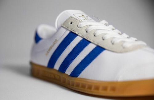 adidas hamburg white and blue