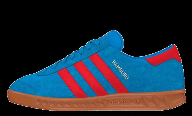 adidas Originals Hamburg Solar Blue