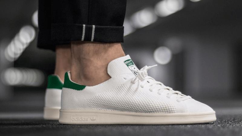 adidas Originals Mens Stan Smith Prime Knit Sneaker