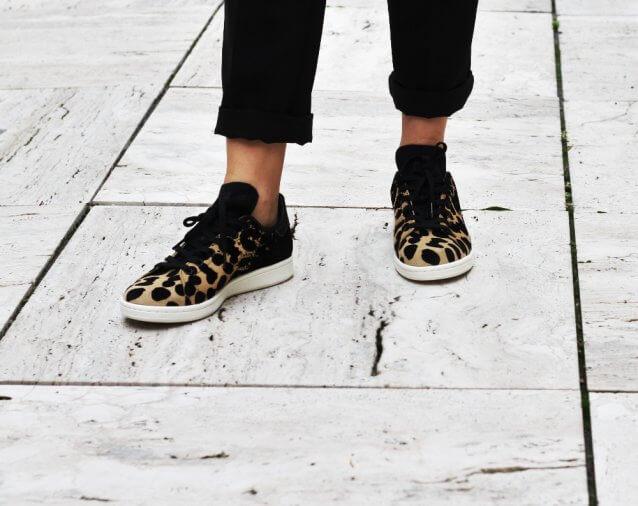 adidas stan smith dames leopard
