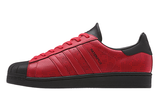 adidas superstar dark red