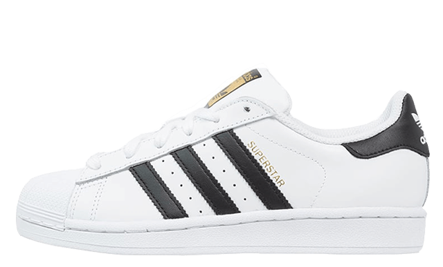 adidas superstar white gold