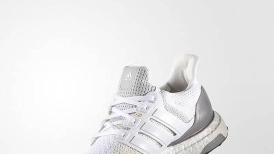 adidas Ultra Boost Grey White   Where