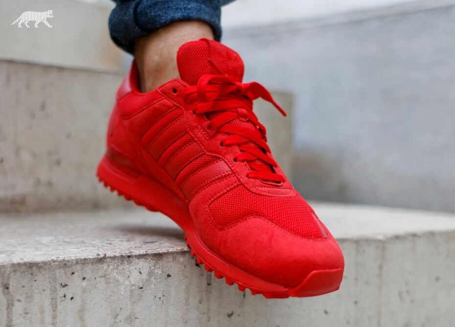 adidas ZX 700 Triple Red | SneakerFiles