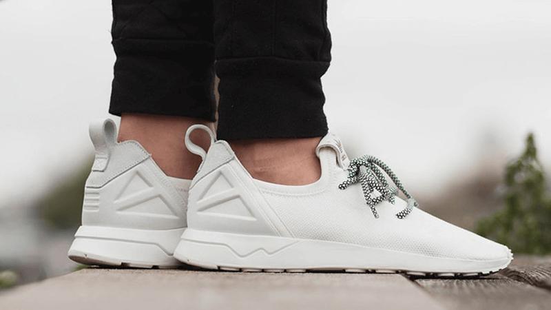 flux adidas white