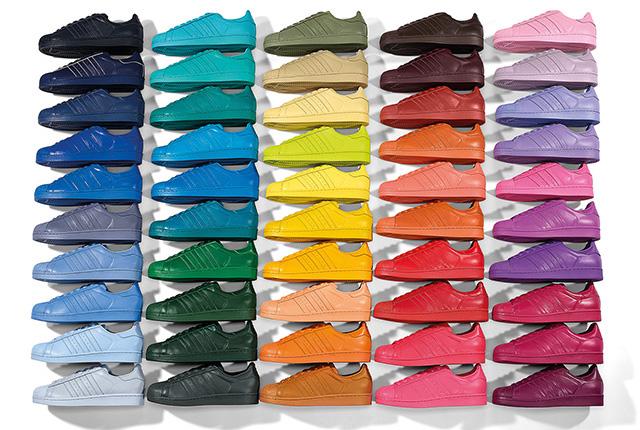 adidas x Pharrell Superstar Supercolour Pack